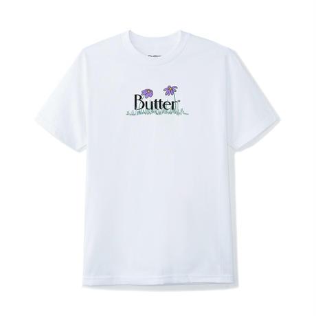Butter Goods | Flower Classic Logo Tee(WHITE)