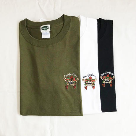 "Oh!theGuilt | timeforlivin' LIMITED ""TACOS MAN"" S/S TEE (シティーグリーン)"