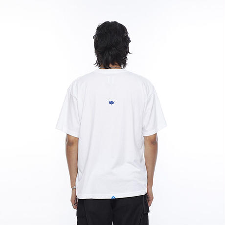Liberaiders / STAY POSITIVE TEE (WHITE)