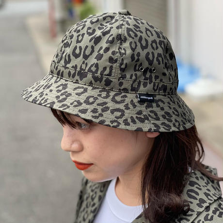 """Oh!theGuilt×BROWNIE HOMEMADE / HANDMADE """"LEOPARD"""" BALL HAT (OLIVE)"""