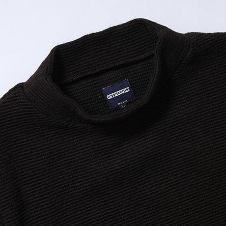 Oh!theGuilt:MOCK NECK SWEATER(ブラウン)