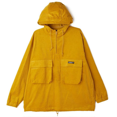 OBEY | SHINER ANORAK (GOLD)