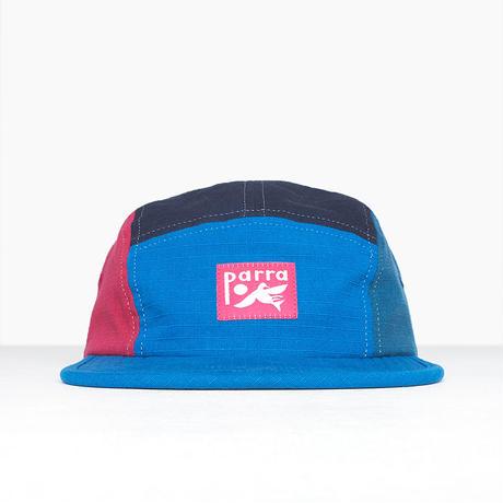 by Parra | bird dodging ball 5panel volley hat (navyblue-lightblue-green) )