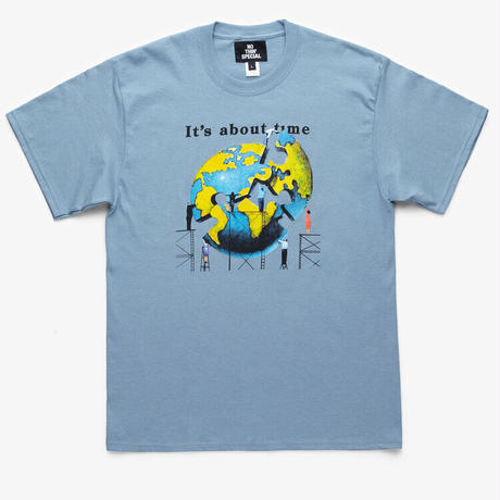 NOTHIN'SPECIAL / TIME TEE (STONEWASHED BLUE)