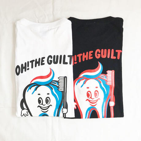 "Oh!theGuilt / W.C Johnny 004:""Mr.Tooth"" L/S T-SHIRT(ブラック)"