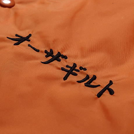"Oh!theGuilt : ""角"" TSUNO COACH JACKET(オレンジ)"