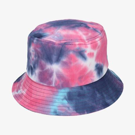 KANGOL/ Tie Dye Bucket (Rainbow)