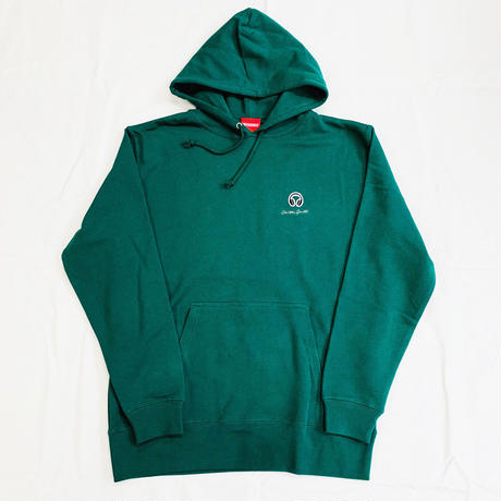"Oh!theGuilt / I wappen :""HEADPHONES"" HOOD  SWEAT(グリーン)"