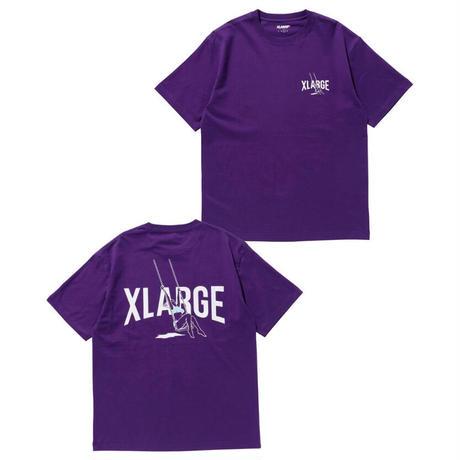 XLARGE   S/S TEE SWING (PURPLE)