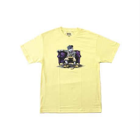 DGK | CHILL POPPA TEE (LEMON)