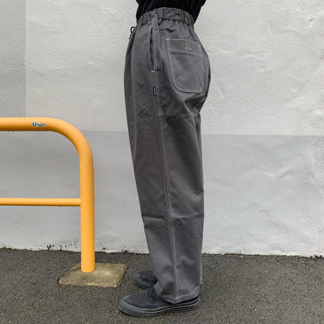 Oh!theGuilt / RELAX BEACH PANTⅡ(PEACH TWILL Ver ダークグレー)
