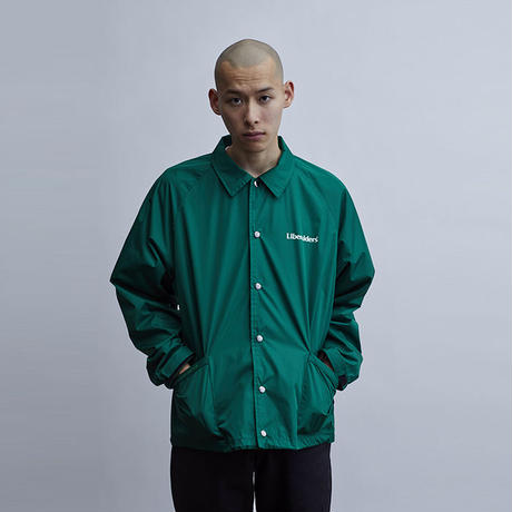 Liberaiders / OG LOGO COACH JACKET (GREEN)