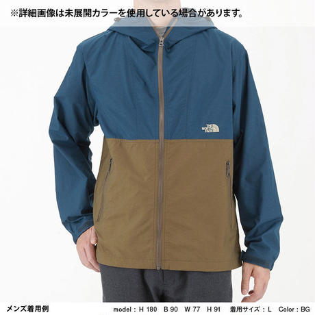 THE NORTH FACE | COMPACT JACKET (PI/フロックスパープル×インカゴールド)