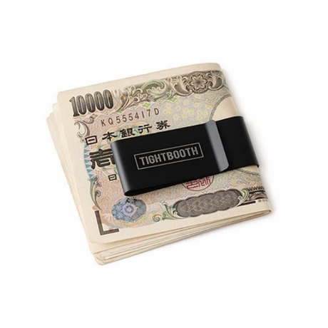 Tightbooth / MONEY CLIP (BLACK)