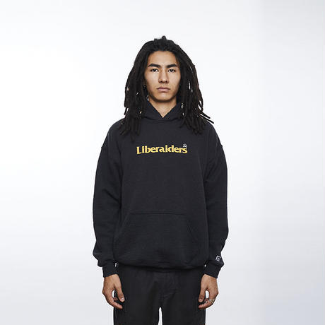 Liberaiders / HAMMER AND SICKLE LOGO PULLOVER HOODIE  (BLACK)