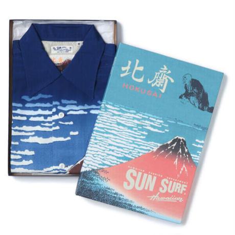 "SUN SURF / SUN SURF×葛飾北斎 SPECIAL EDITION ""凱風快晴"" (NAVY)"