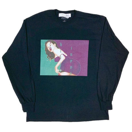 LONELY論理 | #11 SYOUWA BITCH L/S TEE (BLACK)