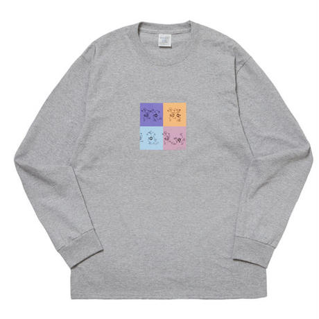 WHIMSY / PLUG IT IN L/S TEE (GRAY)