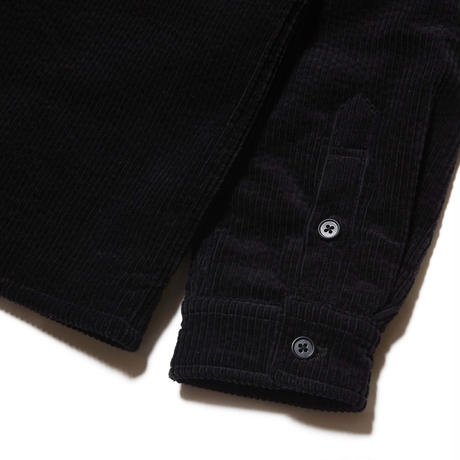 HELLRAZOR / CORDUROY SHIRT JACKET (BLACK)