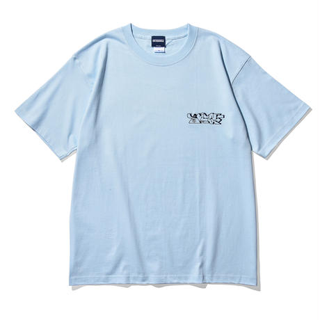 """Oh!theGuilt / Oh!theGuilt×WESO WIM 009 """"CROWN"""" S/S TEE (Lt.BLUE)"""