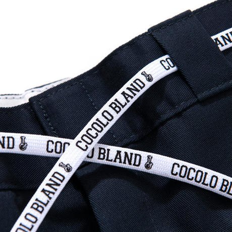 COCOLO BLAND / #556 WORK PANTS (DARK NAVY)