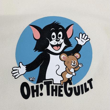 "Oh!theGuilt / W.C Johnny 009 ""C&M(CAT&MOUSE)"" CREW SWEAT(BONE オフホワイト)"