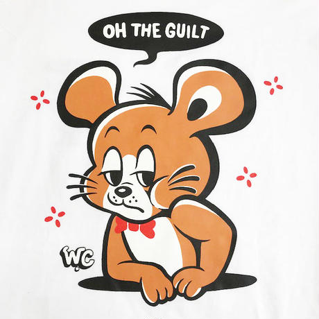 "Oh!theGuilt / W.C Johnny 003:""Chee Chee"" L/S T-SHIRT(ホワイト)"