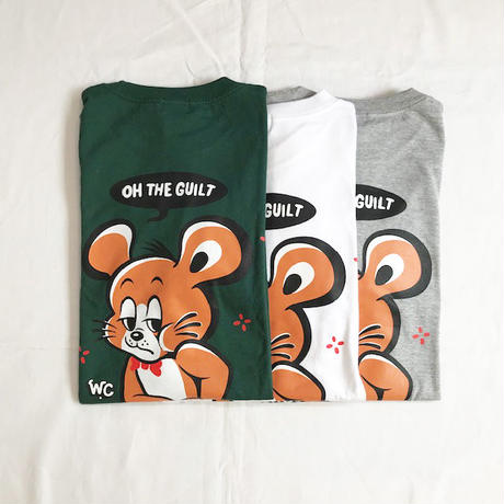 "Oh!theGuilt / W.C Johnny 003:""Chee Chee"" L/S T-SHIRT(ミックスグレー)"