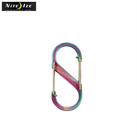 NITE IZE | ナイトアイズ ステンレスSバイナー No3(レインボー)