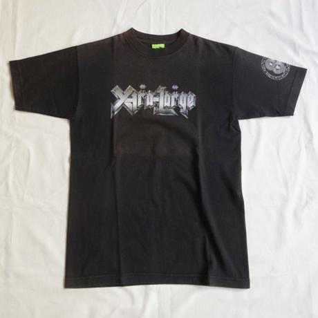 USED (古着)XLARGEメタルロゴ Tシャツ(ブラック)