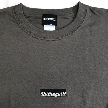 "Oh!theGuilt:""TOOL LOGO"" S/S T-SHIRT(チャコール)"
