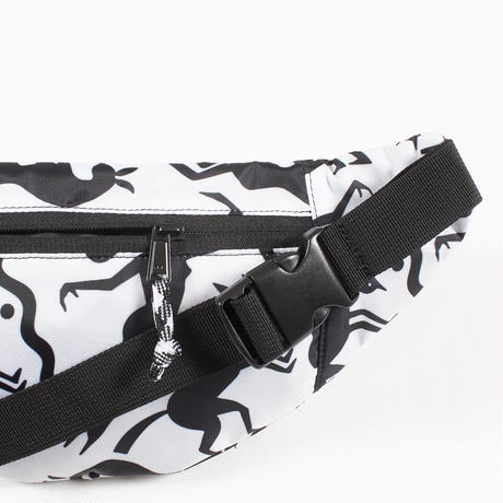 by Parra | waist pack workout woman horse (white)