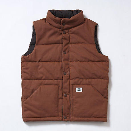 Oh!theGuilt:DUCK PADDED VEST(ブラウン)