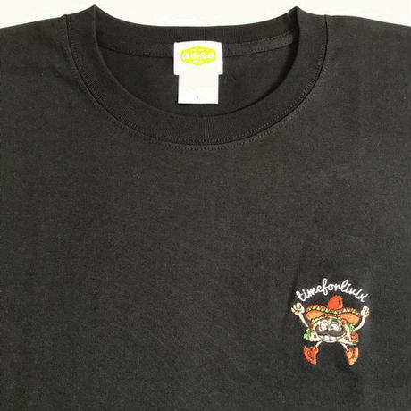 "Oh!theGuilt | timeforlivin' LIMITED ""TACOS MAN"" S/S TEE (ブラック)"