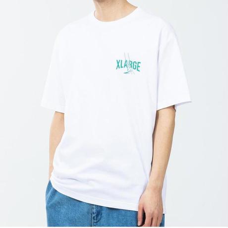 XLARGE | S/S TEE SWING(WHITE)