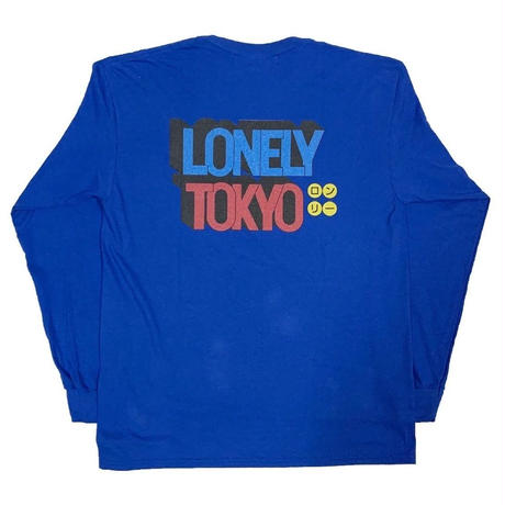 LONELY論理 | #11 IMPOSSIBLE L/S TEE (BLUE)