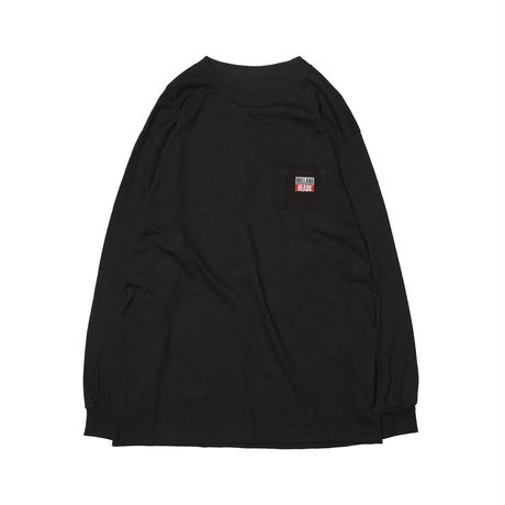 HOLE AND HOLLAND | HOLLAND HEADS LS TEE (BLACK)