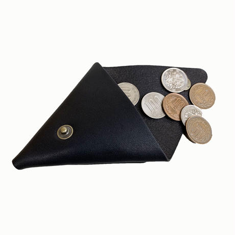 """Oh!theGuilt / """"TRIANGLE""""LEATHER COIN PURSE  (ブラック)"""