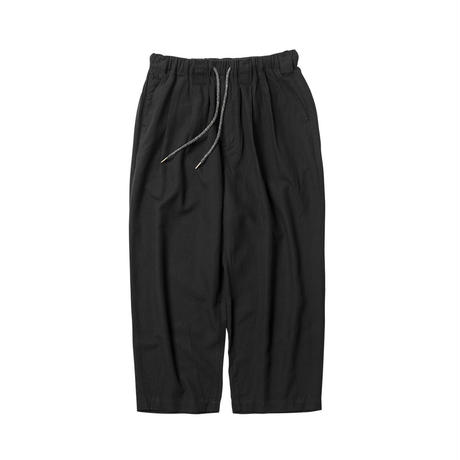 Tightbooth / BAGGY LINEN PANTS (BLACK)