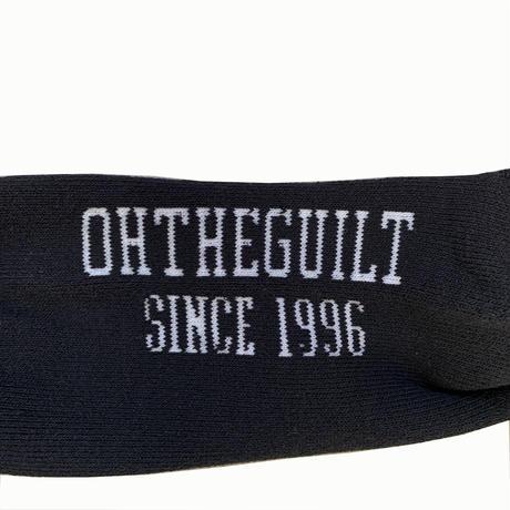 """Oh!theGuilt / """"og"""" SOCKS (BLACK)"""