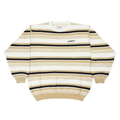 YARDSALE / Mirage Crewneck (BEIGE)