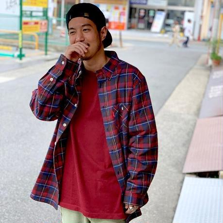 Oh!theGuilt: REAL WORK FLANNEL SHIRT(レッド/ブルー/ホワイト)