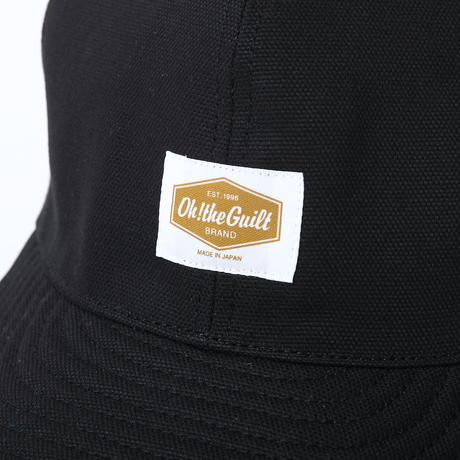 Oh!theGuilt : HAND MADE DUCK 6P CAP by BROWNIE HOME MADE(ブラック)