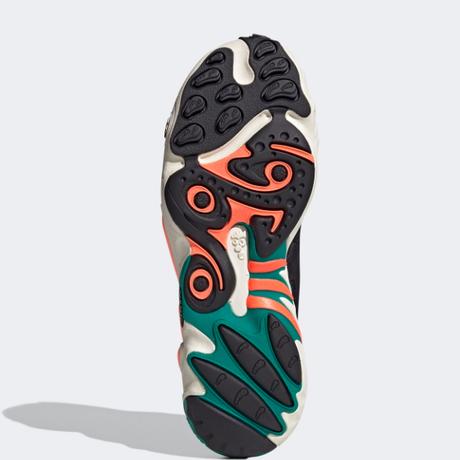 adidas |  FYW 98  (グレーツー/シグナルコーラル/イエローティント)
