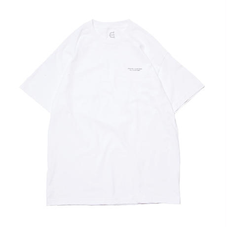 EVISEN SKATEBOARDSゑ®︎ |  SOUNDTRACK Tee (WHITE)