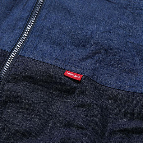 Oh!theGuilt:DENIM ZIP JACKET(インディゴ)