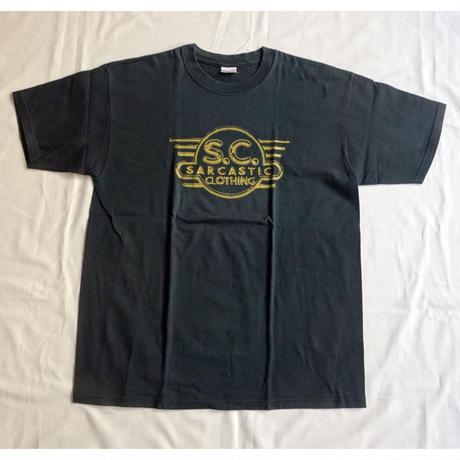 USED (古着)SARCASTIC Tシャツ(ブラック)
