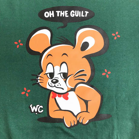 "Oh!theGuilt / W.C Johnny 003:""Chee Chee"" L/S T-SHIRT(アイビーグリーン)"