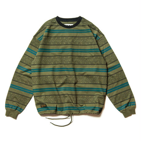 Tightbooth / ENCORE CREW SWEAT (Green)
