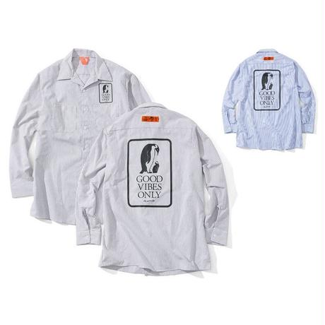 FLATLUX | Union Ls Workshirt (White)